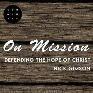 Defending the Hope of Christ