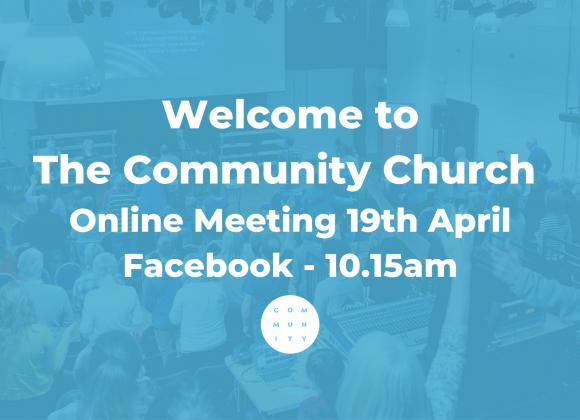 Online Meeting 19th April
