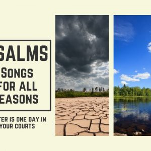 Psalms – Songs for all Seasons – Better is one day in your courts
